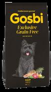 """GOSBI GRAIN FREE ADULT MINI БЕЗЗЕРНОВОЙ корм холистик для взрослых собак мелких пород. Лосось и Ягненок. ГИПОАЛЛЕРГЕННЫЙ (Испания) Цены уточняйте по тел. 8(920) 603-23-23 или ждем Вас в наших зоомагазинах """"Умка"""""""