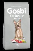 """GOSBI EXCLUSIVE DIET MINI - НИЗКОЗЕРНОВОЙ корм для взрослых собак мелких пород, склонных к избыточному весу. Цены уточняйте по тел. 8(920) 603-23-23 или ждем Вас в наших зоомагазинах """"Умка"""""""