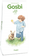 """Gosbi Life Puppy - Полностью сбалансированный корм для щенков всех пород. Цены уточняйте по тел. 8(920) 603-23-23 или ждем Вас в наших зоомагазинах """"Умка"""""""