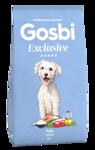 """Gosbi Exclusive Fish Mini - НИЗКОЗЕРНОВОЙ Полностью сбалансированный ГИПОАЛЛЕРГЕННЫЙ корм для собак мелких пород с рыбой  Средиземноморская Диета. Цены уточняйте по тел. 8(920) 603-23-23 или ждем Вас в наших зоомагазинах """"Умка"""""""