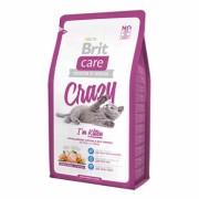 """BRIT CARE Корм сухой """"Crazy Kitten"""" для котят, беременных и кормящих кошек, с цыпленком и рисом"""