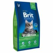BRIT Premium Cat Sterilised Полнорационный корм премиум-класса для кастрированных котов и стерилизованных кошек. С курицей в соусе из куриной печени.