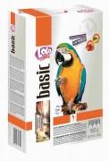 LOLO pets Корм basic фруктово-овощной для крупных попугаев (ПОЛЬША)