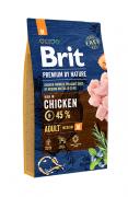 BRIT PREMIUM ADULTL M Корм для взрослых собак средних пород Premium «Adult M»