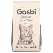 Gosbi Original Cat Grain Free Adult - Беззерновой сухой корм для взрослых кошек с пробиотиками для укрепления здоровья кишечника