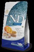 Farmina Низкозерновой N&D Low Grain Cat COD, SPELT, OATS & ORANGE ADULT Фармина ОКЕАНИКА Треска, спельта, овес и апельсин