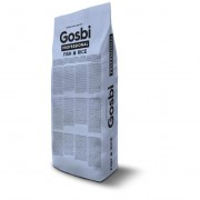 GOSBI PROFESSIONAL EXCLUSIV FISH&RICE 18kg Госби Профешнл/ Низкозерновой Эксклюзив ГИПОАЛЛЕРГЕННЫЙ Лосось с рисом Средиземноморская диета (Испания)
