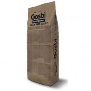 GOSBI GRAIN FREE ADULT БЕЗЗЕРНОВОЙ корм холистик для взрослых собак Средних и Крупных пород. Лосось и Ягненок. ГИПОАЛЛЕРГЕННЫЙ (Испания)