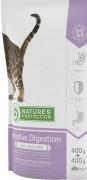 NATURE'S PROTECTION Sensitive Digestion ХОРОШО УСВАИВАЕМАЯ ФОРМУЛА ДЛЯ ВЗРОСЛЫХ КОШЕК 1 год или старше Для кошек с чувствительным пищеварением