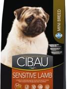 Farmina Cibau Sensitive Lamb Mini  ГИПОАЛЛЕРГЕННЫЙ- Полнорационное и сбалансированное питание для взрослых собак с чувствительным пищеварением и аллергией. Корм для взрослых собак мелких пород с ягненком