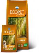 Farmina Ecopet Natural Lamb - Полнорационный, сбалансированный корм для собак с проблемами пищеварения и аллергией с ягненком