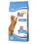 Farmina FUN CAT FISH  Полнорационный и сбалансированный корм для взрослых кошек с рыбой