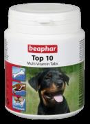 Beaphar Top 10 For Dogs 180 табл. Сбалансированный комплекс необходимых витаминов, минералов и микроэлементов