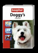 Beaphar Doggy's + Biotin 75 табл Витаминизированное лакомство с биотином для собак. Cпособствуeт улучшению вида шерсти