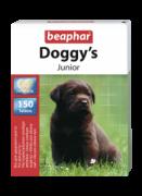 Beaphar Doggy`s Junior 150 табл. Витаминизированное лакомство для щенков. Идеальное дополнение к каждодневному рациону щенков в возрасте от 6 недель