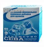 СЕVAвит ЛАКОМСТВО для щенков 60 таблеток
